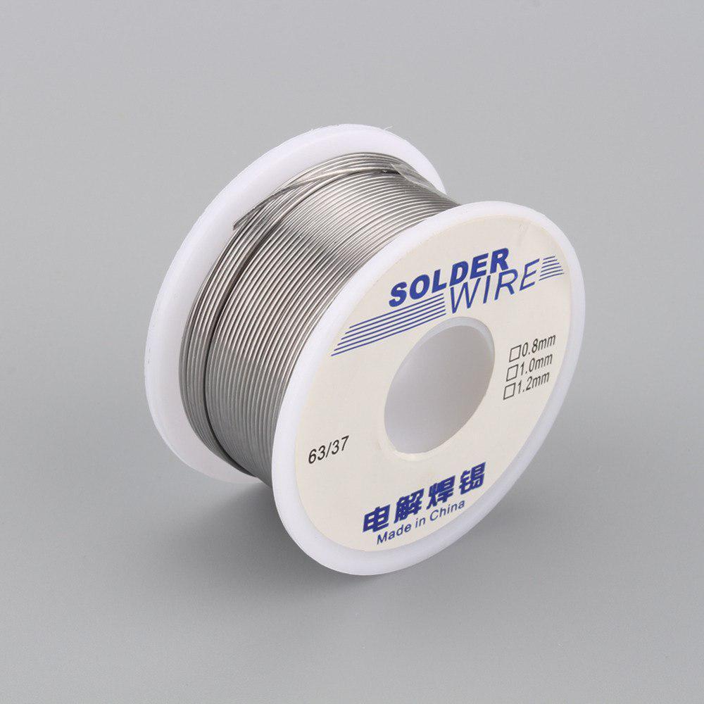Припой оловянно-свинцовый 1мм 63/37, 100 грамм