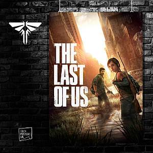 Постер Элли и Джоэл. Last Of Us, Последние из нас, Одни из нас. Размер 60x42см (A2). Глянцевая бумага