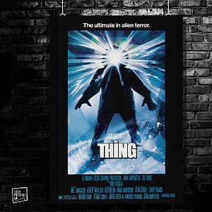 Постер The Thing, Нечто, ужасы, Карпентер. Размер 60x42см (A2). Глянцевая бумага