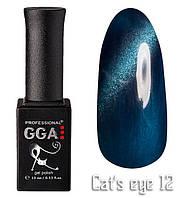 Гель лак Gga Professional Cat's Eye №012 10 мл