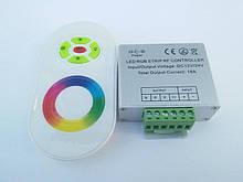 Контролер RF RGB 18 A (Touch) білий СВДТ
