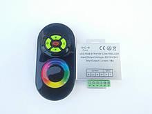 Контролер RF RGB 18 A (Touch) чорний СВДТ