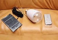Аварийная лампа GD-5005 (с аккумулятором и солнечной батареей)