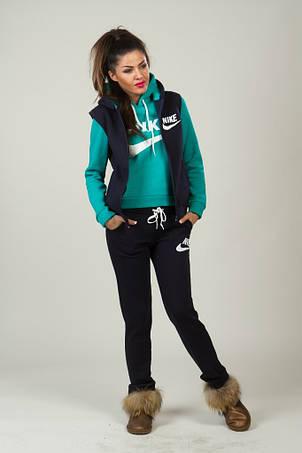 Спортивный костюм тройка для девушки, фото 2