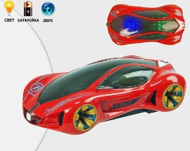 Машина музыкальная, 3D свет