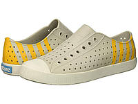 866e367b9 Кроссовки/Кеды (Оригинал) Native Shoes Jefferson Mist Grey/Shell  White/Beanie