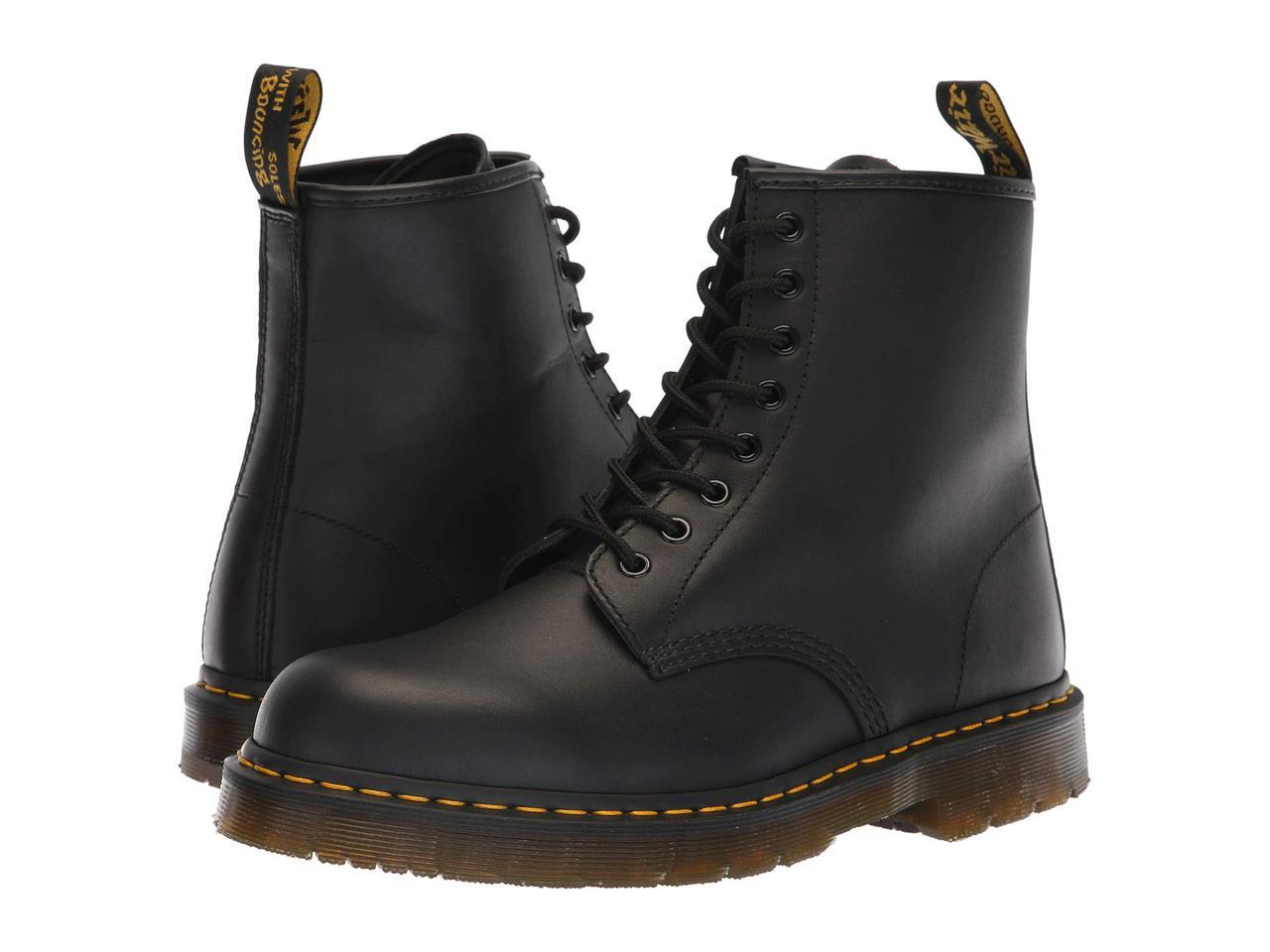 Ботинки/Сапоги (Оригинал) Dr. Martens Work 1460 SR 8-Tie Boot Black