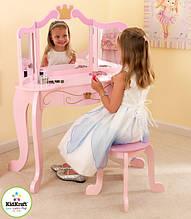 Дитячий туалетний столик (дзеркало + кріселко)