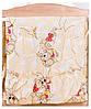 Постель Qvatro С Рисунком Голд (8 Элем.) бежевая (розовые мишка-мальчик и мишка-девочка спят), фото 3