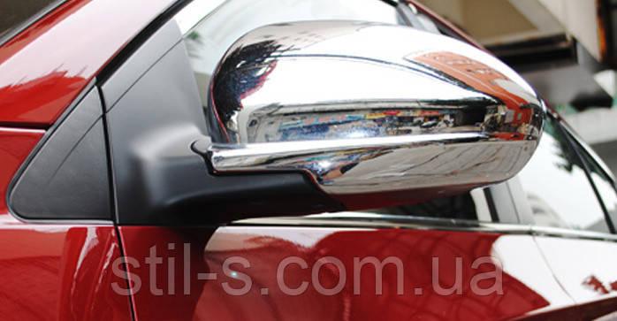 Накладки на зеркала Chevrolet Cruze (2009-2015)