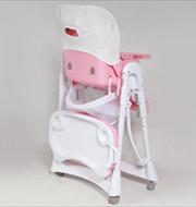сложенный стульчик для кормления