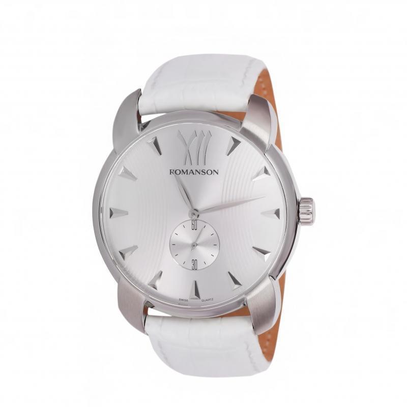 Наручные мужские часы Romanson TL1250MWH WH оригинал