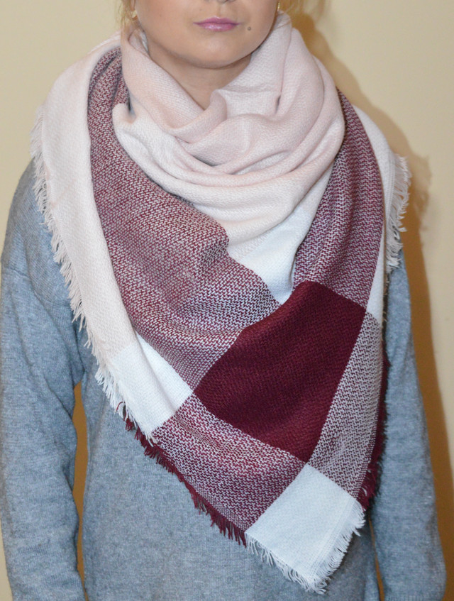 Платок шарф плед Зои Фото 4