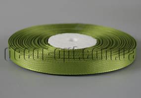 Лента репсовая оттенок хаки 0,9см/36ярд арт.95