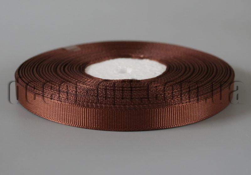 Лента репсовая оттенок коричневый 0,9см/36ярд арт.32