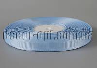 Репсова стрічка блакитний відтінок 0,9 см/36ярд арт.20