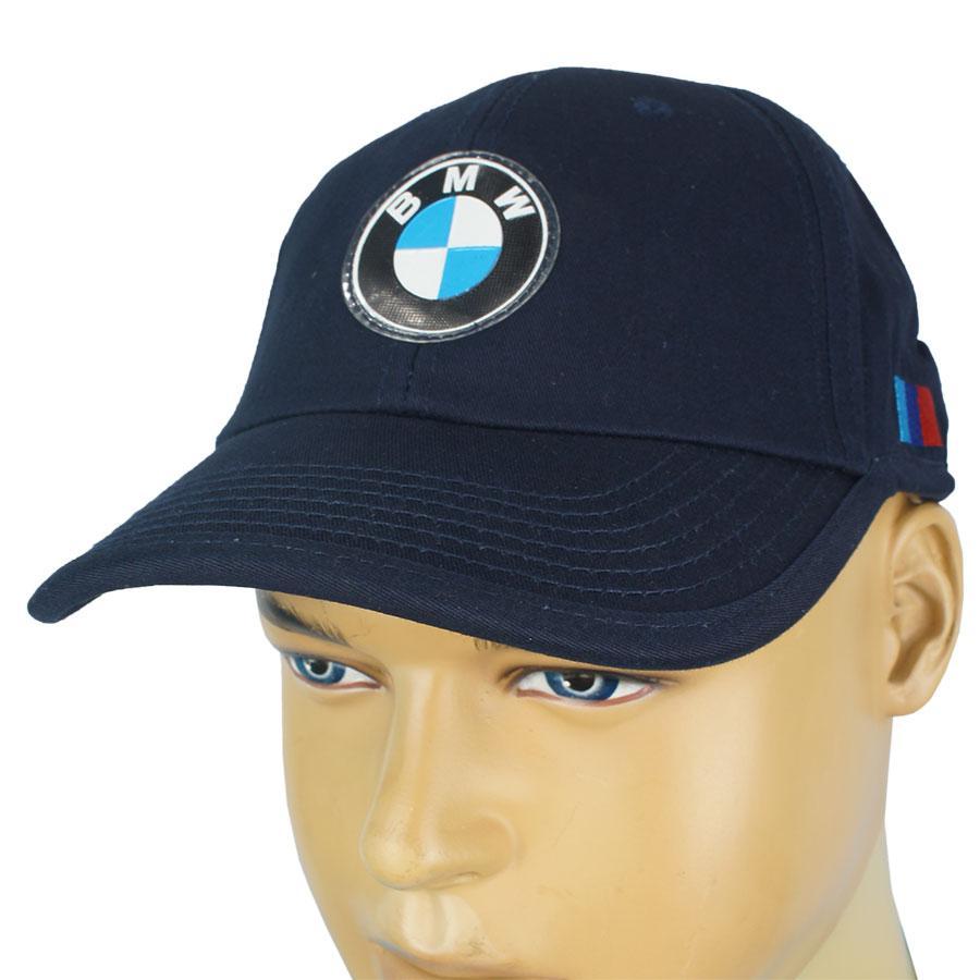 Бавовняна чоловіча бейсболка з емблемою BMW 0250 d.blue темно-синього кольору