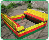 Песочница Детская (Разборная с скамейкой)