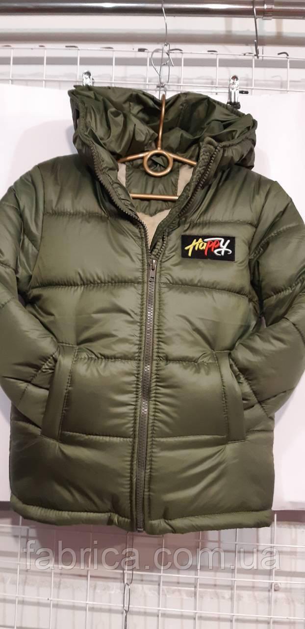 Куртки детские зимние, подкладка овчина, 122-146 размеры