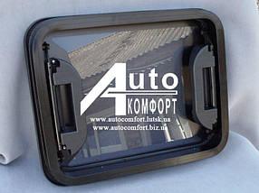 """Люк автомобильный класс """"А"""", стеклянный, 40х50, с аварийным выходом"""