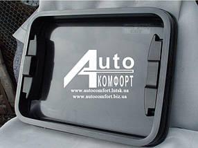 """Люк автомобильный класс """"А"""", стеклянный, 50х65, с аварийным выходом"""