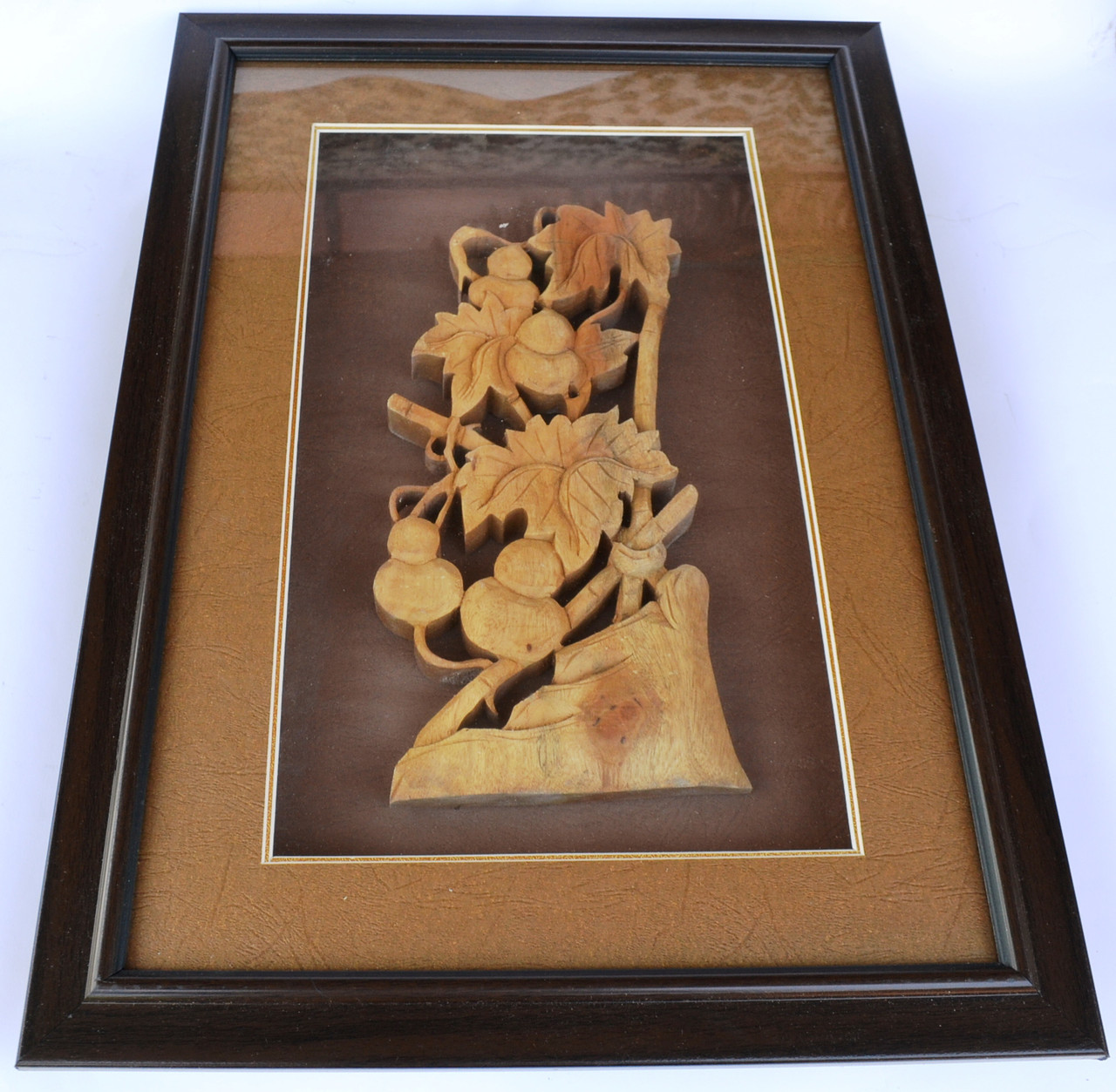 """Картина из сандалового дерева """"плоды"""""""