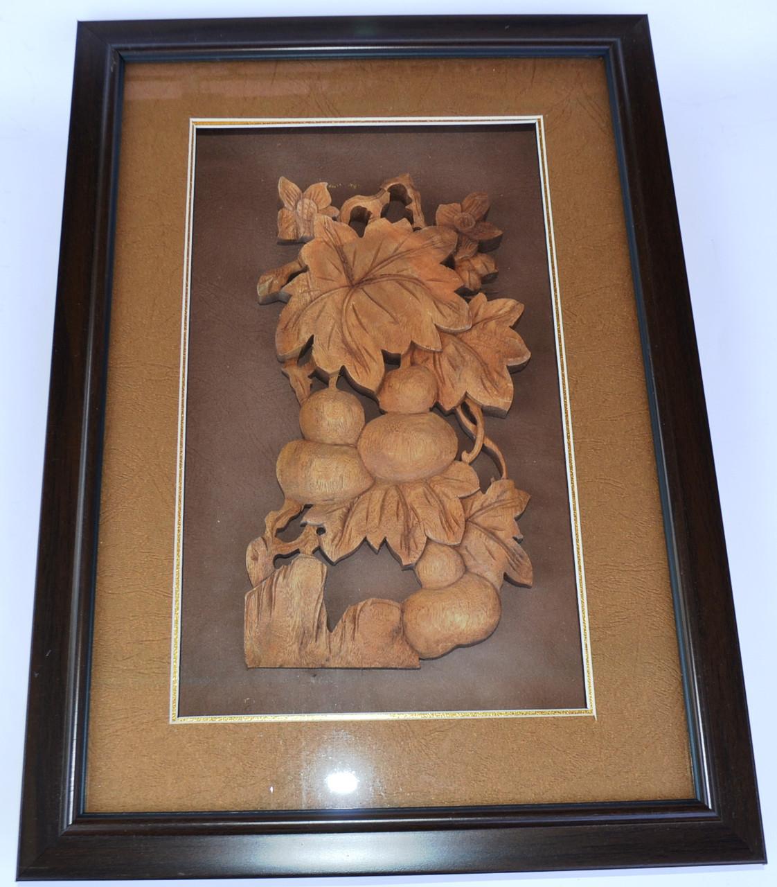 """Картина из сандалового дерева """"плоды 2"""""""