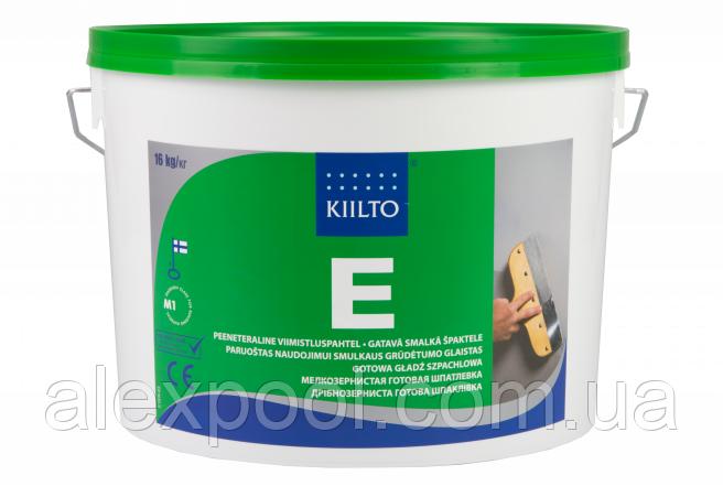Шпатлевка Kiilto E 3 л. (4,8 кг.) - белая суперфинишная