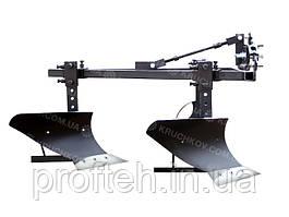 Плуг двохкорпусний Преміум (мототрактор)