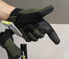 Тактические перчатки Mechanix Contra PRO. - Khaki L (Mex-oliv-L), фото 3