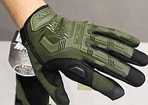 Тактические перчатки Mechanix Contra PRO. - Khaki L (Mex-oliv-L), фото 2