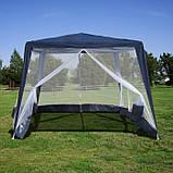 Павильон шатер палатка тент с москитной сеткой и молниями, фото 7
