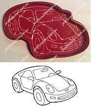Набор Машинка №2 - пластиковая вырубка  + трафарет