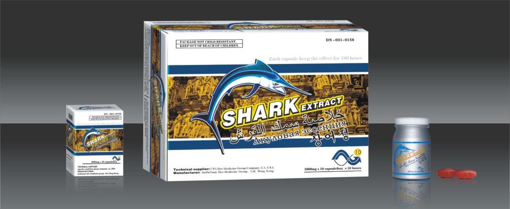 Таблетки Акулий Экстракт (лат Shark Extract) – уникальная пищевая добавка для повышения потенции.