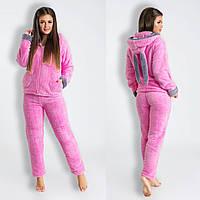 Теплый махровый домашний костюм -пижама с Ушками. 850 UAH c35cdd42d37a8