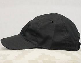 Бейсболка (кепка) PoliCotton Ripstop Black (С02-black)