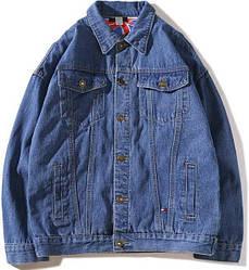 """Джинсовая куртка в стиле Tommy Hilfiger """"Dark Blue"""""""