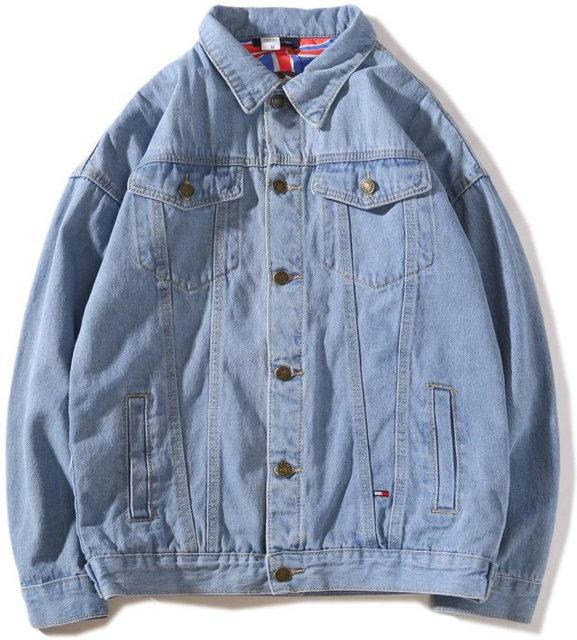"""Джинсовая куртка в стиле Tommy Hilfiger """"Blue"""""""