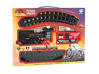 Железная дорога Классический поезд PLAY SMART, звук, свет, дым, на батарейках