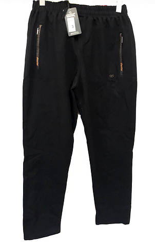 Брюки мужские трикотажные Shooter модель 4208 черные спортивные штаны Шутер турецкого производства , фото 2