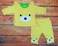 Комплект одежды для мальчика желтый Курносик