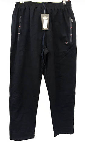 Брюки мужские трикотажные Shooter модель 4232 темно-синие спортивные штаны Шутер турецкого производства , фото 2