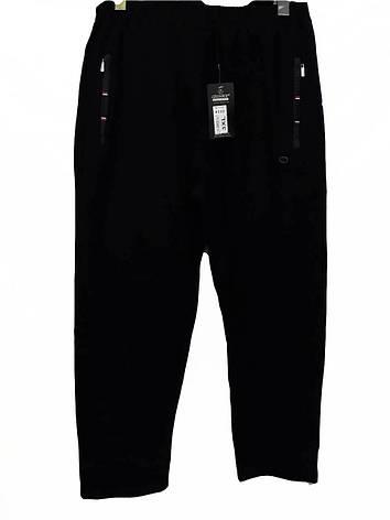 Штани чоловічі трикотажні Shooter модель 4232 чорні спортивні штани Шутер турецького виробництва, фото 2