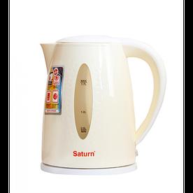 Электрочайник 2,2кВт, 1.7л, диск Saturn ST-EK8438Beige