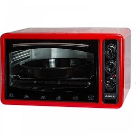 """Тостер-печь """"Асель"""" таймер, 40 л Asel АF-0123_красный"""