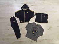 Трикотажный костюм 3 в 1 для мальчика оптом, Sincere, 98-128 см,  № LL-2323, фото 1