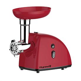 Мясорубка электрическая 2000 Вт + насадка под томат, реверс ViLgrand V204-11MG