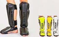 Захист гомілки й стопи муай тай/ММА/кікбоксинг Vemun 7042: PU, розмір M-L, фото 1