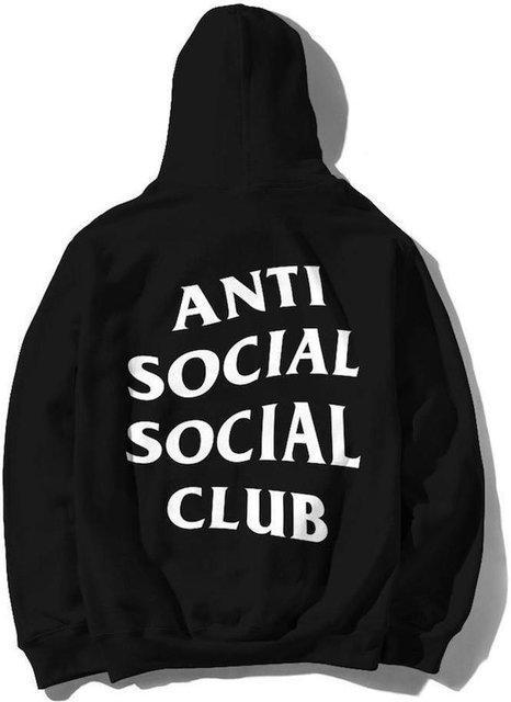 "Худи с  капюшоном в стиле Anti Social Social Club ""Black"""