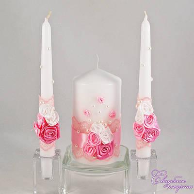 """Свадебные свечи """"Семейный очаг""""№19"""